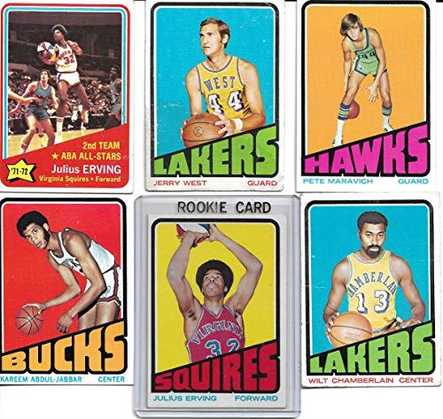 1972 1972/73 Topps Basketball Complete Set 264 Cards Julius Erving Rookie