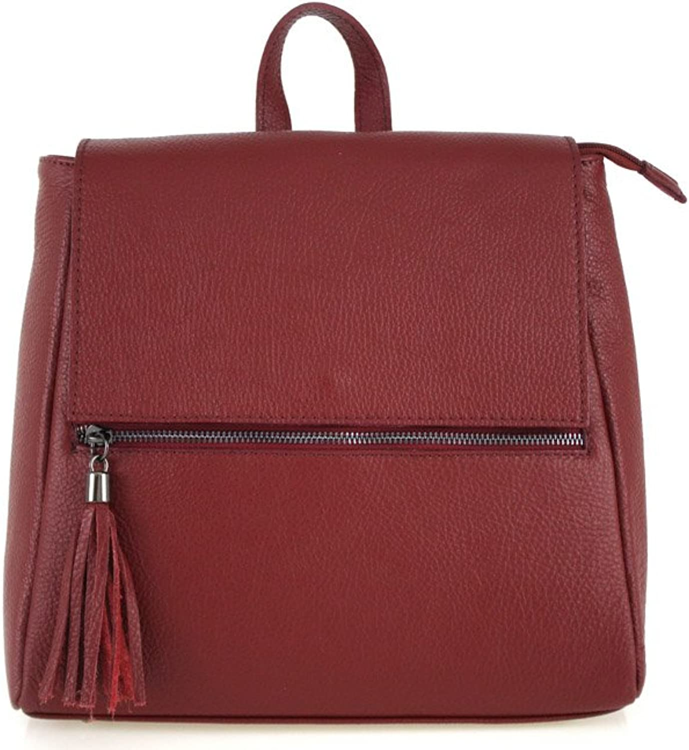 ZETA SHOES Women's Genuine Leather Backpack Made in  Leather Handbags MainApps