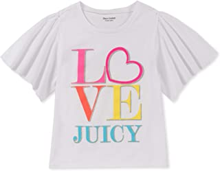 JUICY COUTURE girls Fashion Tee T-Shirt