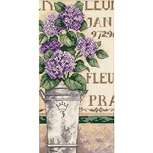 colorful Hydrangea Dimensions Kit Colorful Colourful Dimenions Mini Crewel
