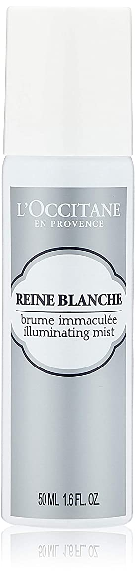 ベスビオ山世辞薬を飲むロクシタン(L'OCCITANE) レーヌブランシュ ブライトフェイスミスト 50ml