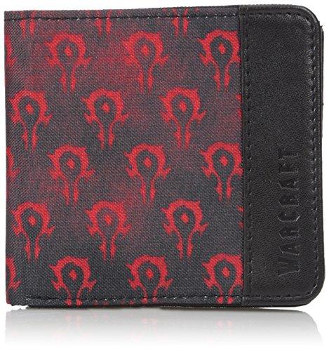 Warcraft Movie Horde Logo Men\'s Bifold Wallet