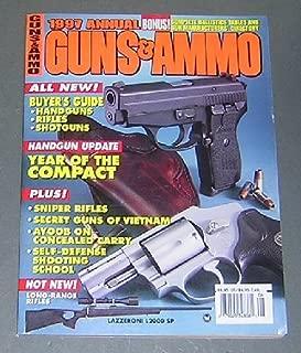 1997 Annual Guns & Ammo Magazine: Concealed Guns & the Woman; Single-action Grip Frames; Sixgun Shootout; British Sniper Rifles; Remington's Remarkable 700; Fox Renaissance