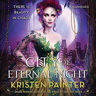 City of Eternal Night audiobook cover art