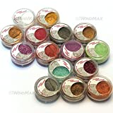 Brand New 15 Cold Metallic Colorful Glitter Shimmer Pearl Loose Eyeshadow...