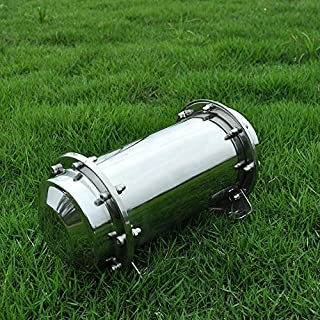 Stainless Steel Time Capsule Waterproof Lock Container Storage Future Gift 10.2