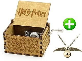 La mejor caja de música de madera de Harry Potter de 2021: mejor valorada y revisada