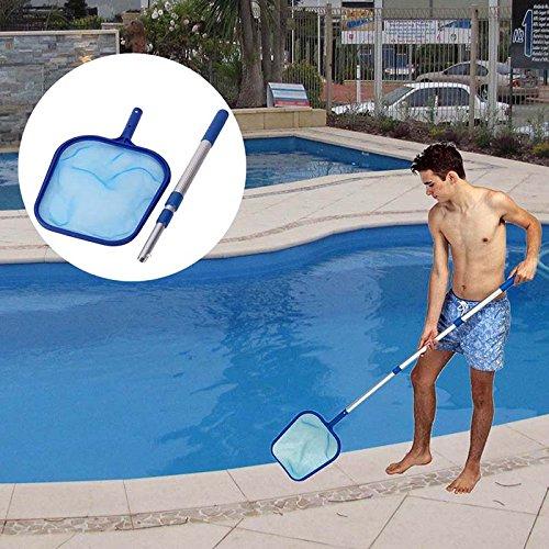 symboat espumadera de red de limpieza de hoja de piscina con el ...