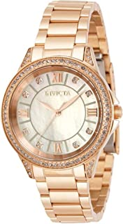 Invicta Angel Quartz Crystal White Dial Ladies Watch 30930