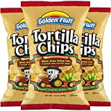 CRISPY TORTILLA CHIPS: Great for dipping or eating right out of the bag. Add Golden Fluff Tortilla Chips to your salads and side-dishes for a flavorful meal. ALL NATURAL CORN CHIPS: Our Tortilla Chips are made from stone ground corn flour for a delic...