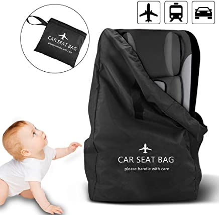 Car Seat Travel Bag, Xboun Ideal Gate Check Bag for Air Travel & Saving Money