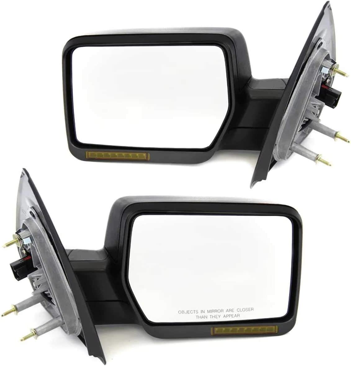 Compatible with Pickup Power Heated Pair View Side Cheap SALE Start Mirror Large-scale sale Signal