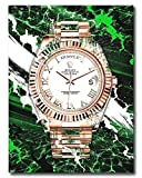 DEVICI Rolex Day Date Presidential Canvas Wall Art Framed, Wall Art Print, Canvas Wall Decor, Canvas Print