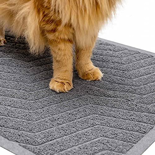 WePet Easy Clean Cat Litter Mat Made of Premium Durable PVC Rug
