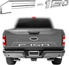 Car concentration camp F150 Tailgate Insert Letters Emblem Black 3D Raised Letters Decals with Strong 3M Adhesive for Ford F150 2018 2019 2020