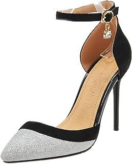 Lydee Mujer Zapatos Moda Tacones Altos Pumps Correa de Tobillo
