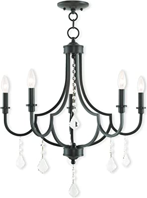 Amazon.com: Caterina Inglés Bronce Mini – Lámpara de techo ...