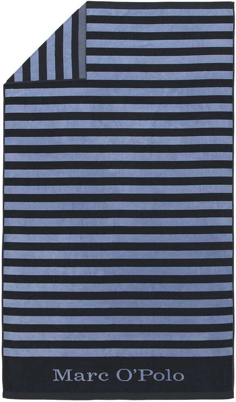 Marc O'Polo Strandlaken Saburo Blau Blau Blau Strandtuch Badetuch Streifen 100 cm x 180 cm B07MH2J5VN 63db6d