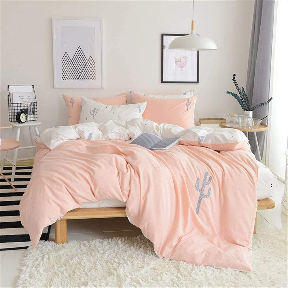 PinkMemory Queen Cactus Duvet Cotton All stores are sold Washed Bedding Cover Some reservation