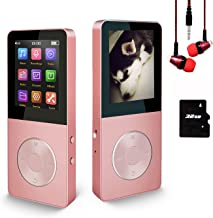 $26 » 16GB MP3 Player, Hotechs Music Player with FM Radio, Recording, HiFi Lossless Sound with Built-in Speaker