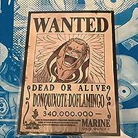 麦わらストア ONE PIECE ドフラミンゴ 手配書 ブロマイド 非売品 ワンピース
