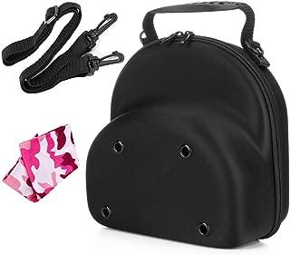 NEPPT Baseball Hat Cap Carrier Case Ball Caps Holder Storage Organizer Bag for Travel Black Big for Men (Cap Carrier 2-3)