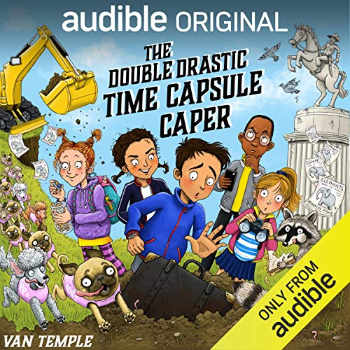 The Double Drastic Time Capsule Caper cover art