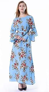 Plus Size Abaya Kaftan Vestido Qatar Oman Floral Muslim Hijab Dress Jilbab Robe Dubai Abayas For Women Turkish Islamic Clothing