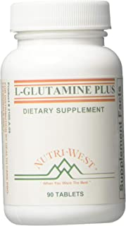Nutri-West - L-GLUTAMINE Plus -90 Tabs