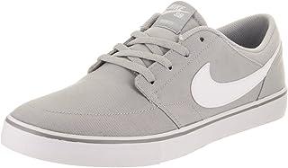 Nike Men's Sb Portmore Ii Solar Canvas Ankle-High Skateboarding Shoe
