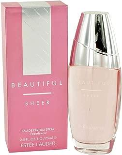 Beautiful Sheer By Estee Lauder For Women, Eau De Parfum Spray, 2.5-Ounce Bottle