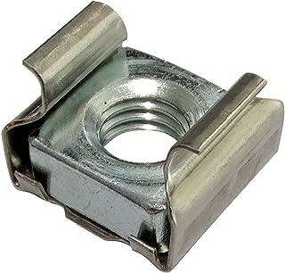 AERZETIX: 10x Tuercas de jaula M8 L16mm para chapa metalica