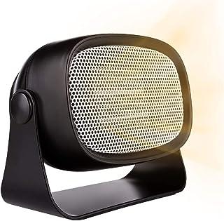 Ti-Fa Eléctrico Calentador de Ventilador PTC Elemento de Cerámica Calefactor de Potencia Regulable Ahorro Energía para Habitación Oficina Baño