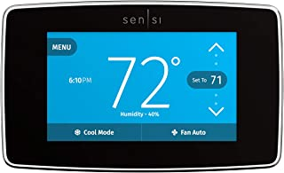 Emerson Sensi Touch Wi-Fi Smart Thermostat with Touchscreen Color Display, Works with Alexa, Energy Star Certified, C-wire...