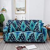 Fundas de sofá elásticas para Sala de Estar Fundas de Licra Fundas de sofá Toalla de sofá elástica Funda de sillón en Forma de L A18 1 Plaza