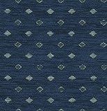Möbelstoff PITEA 4719 Karomuster Farbe blau als robuster