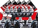 Star Wars Classic- Star Wars Juego de vajilla para 8 personas, Multicolor (Procos Partyware 17212)
