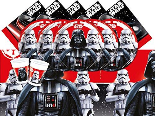 Disney BPWFA-19 Star Wars - Vajilla para 8 Personas