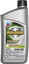 HAVOLINE ProDS Synthetic Motor Oil 0W 20, 1 QT.