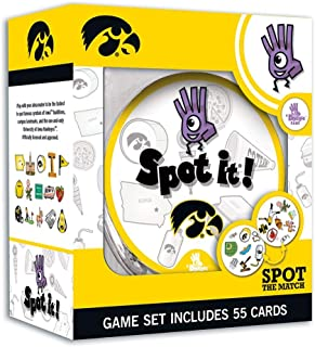 MasterPieces NCAA Unisex-Adult NCAA Spot It! Card Game
