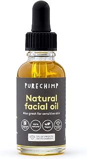 Aceite Facial 100% Natural - PureChimp Súper Uno 30ml – Vegano y Hecho a Mano en el Reino Unido – Aceite Facial para Piel ...
