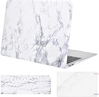 OneStop MacBook Air 13 inch With keyboard & Screen Protector M1 A2337 A2179 A1932 2020 2019 2018 Release, Slim Plastic Mat...
