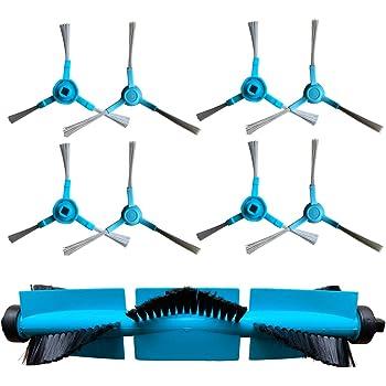 REYEE Pack de 9 Kit de Accesorios de Repuesto para Cecotec Conga Excellence 3090 Robot Aspiradora 8 Cepillos Laterales + 1 Cepillo Principal Conga 3090 Kit: Amazon.es: Hogar