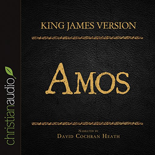 Holy Bible in Audio - King James Version: Amos audiobook cover art
