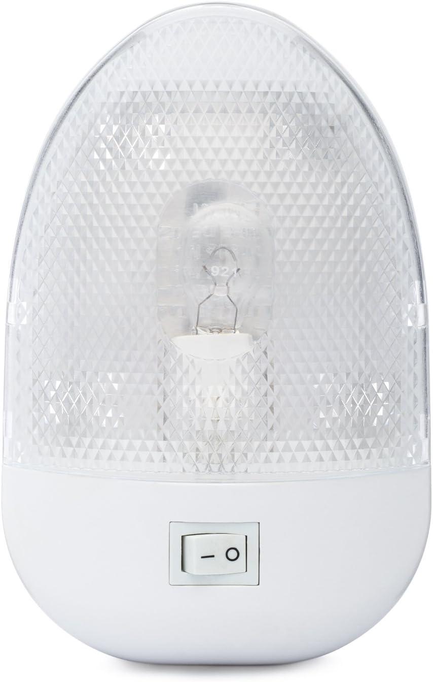 Lumitronics RV 12V Oval specialty shop Single Dome Max 86% OFF Interior Ligh Light Optics -