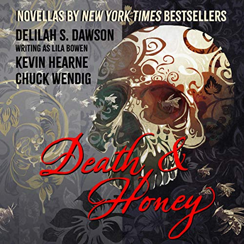 Death & Honey                    By:                                                                                                                                 Kevin Hearne,                                                                                        Chuck Wendig,                                                                                        Lila Bowen                               Narrated by:                                                                                                                                 Luke Daniels,                                                                                        Xe Sands,                                                                                        Robin Miles                      Length: 7 hrs and 23 mins     148 ratings     Overall 4.0