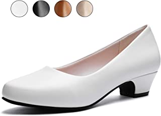 GUCHENG Chunky Low Heels Pump Wmen's Shoes - Dress...