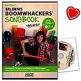 Expérience Boomwhackers Songbook–10morceaux moderne dans différents styles–Sans vorkenntnisse Boomwhackers jouer–pour tous les âges.–Avec CD MP3et coloré Cœur Note Pince