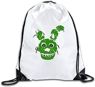 Stardust Five Nights At Freddy Bonnie Cool Drawstring Backpack Drawstring Bag