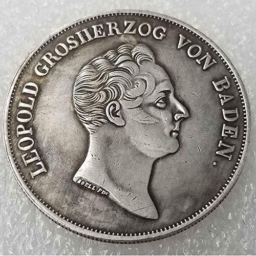 DDTing Antiker Deutscher Morgan Silber-Dollars – 1836 alte Münze zum Sammeln – Silber-Dollar – Silber-Dollar – Replik Silbermünze GoodService